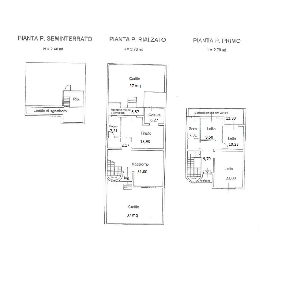 Appartamento con terrazza a livello house experience for Planimetria appartamento